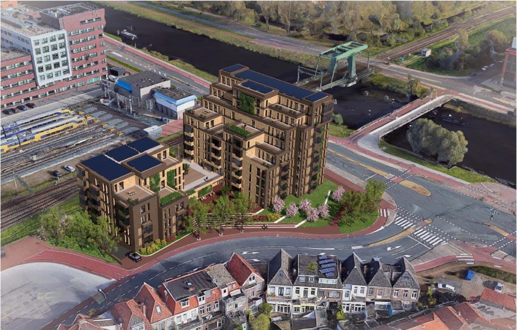 Ontwikkeling van appartementen op de stationslocatie te Alkmaar