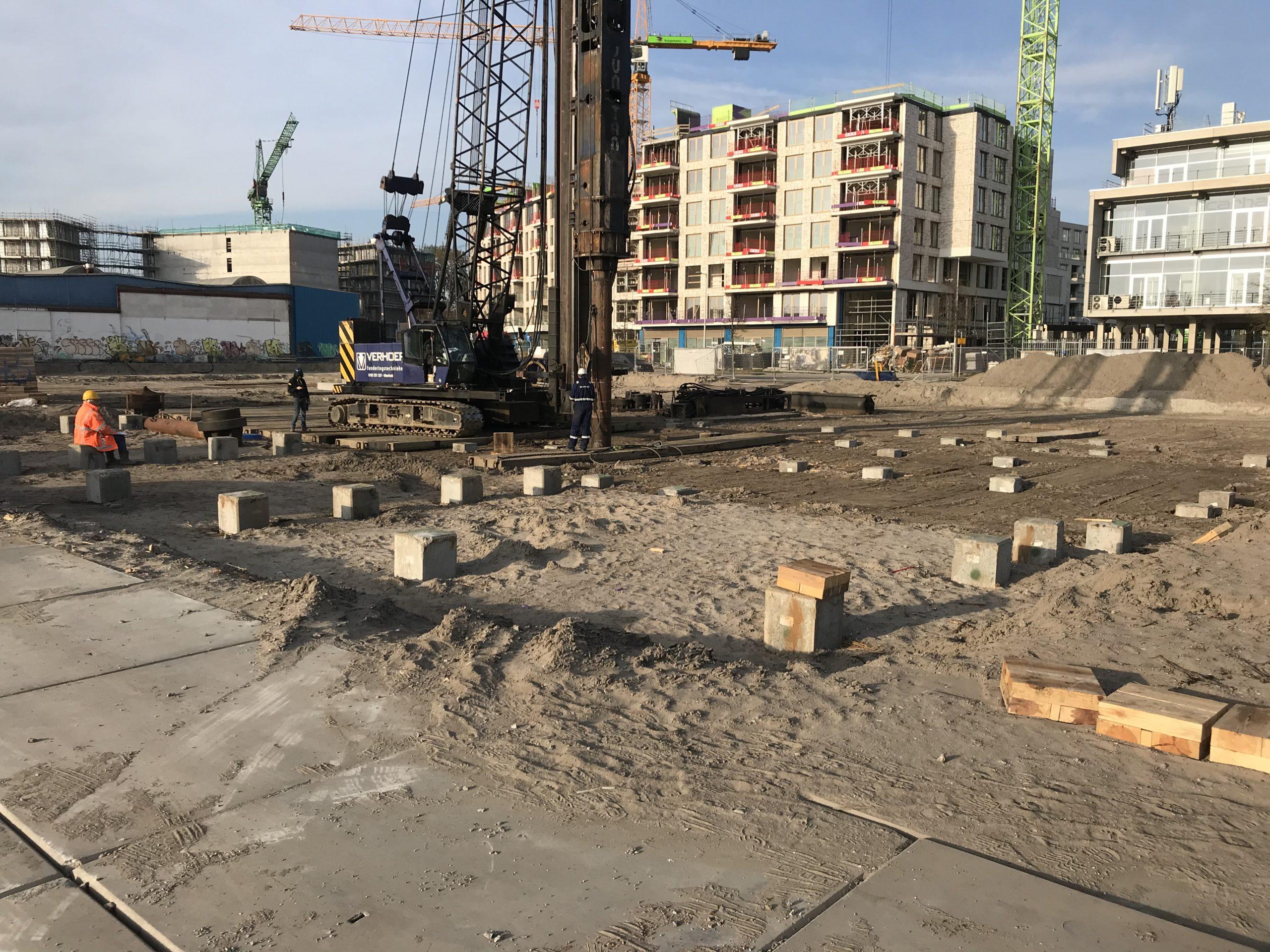 Heiwerk project Cruquiusweg gestart