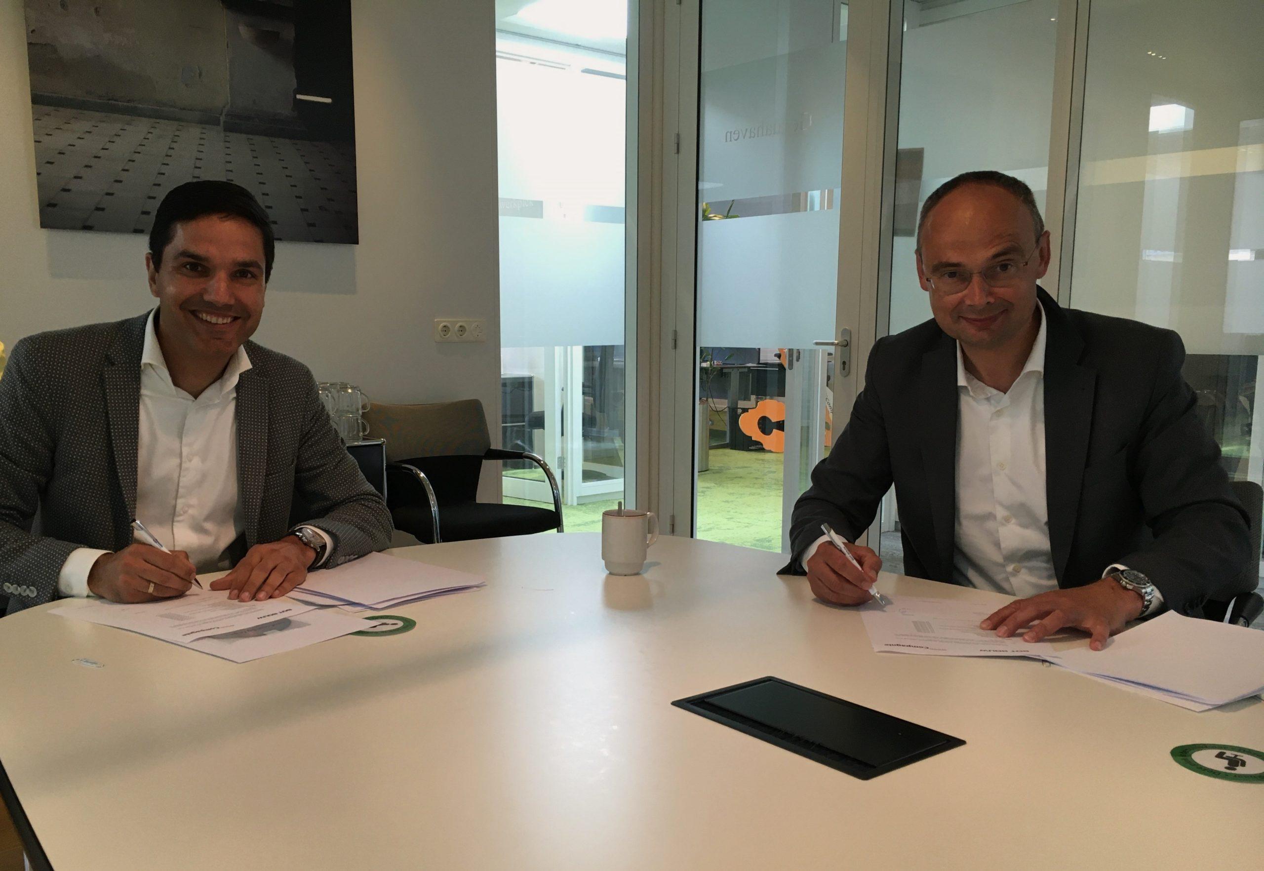Wooncompagnie en Bot Bouw ondertekenen aannemingsovereenkomst