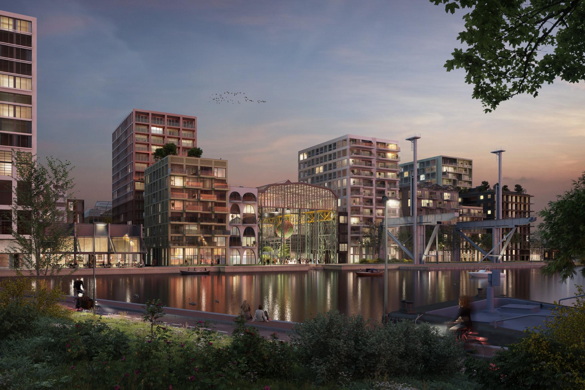 VORM en Bot Bouw bekrachtigen samenwerking bouw 181 woningen op Oostenburg