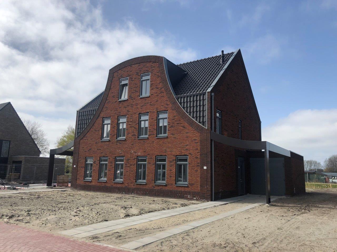 De eerste woningen Reinderseiland zijn opgeleverd!