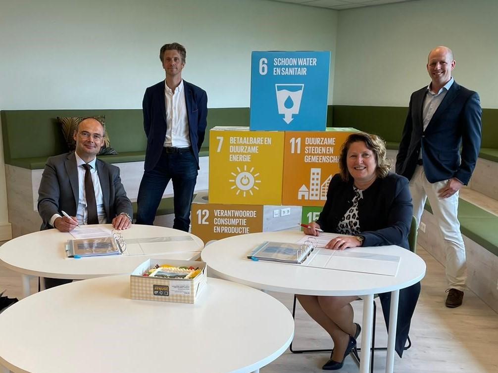 Timpaan en Bot Bouw tekenen samenwerkingsovereenkomst Cascade Alkmaar