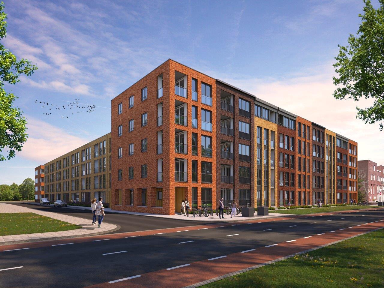 Pensioenfonds Rail & OV verwerft 105 woningen aan de Wagenweg Purmerend